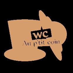 Stickers originaux wc homme femme
