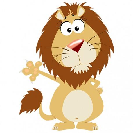 Stickers lion pour bébé