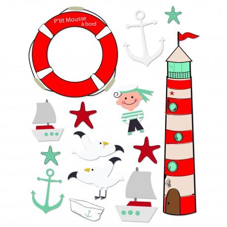 Stickers marin pour bébé