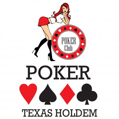 Stickers Poker Kit Texas