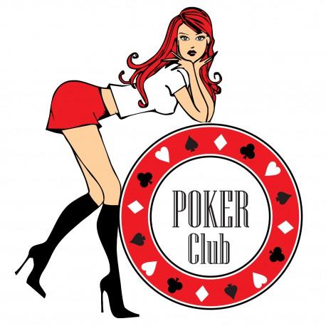Sticker poker sexy