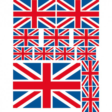 Stickers drapeaux angleterre