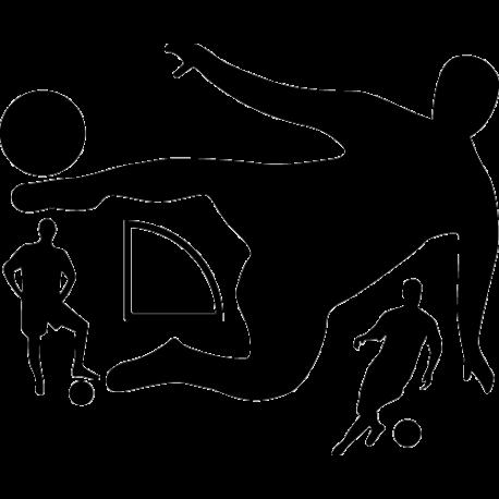 Stickers football - Kit Foot 1