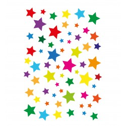 Stickers étoiles toutes couleurs