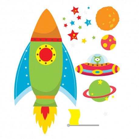 Stickers espace enfant