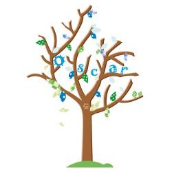 Stickers arbre naissance