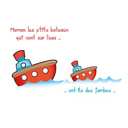 Stickers enfants comptine : Maman ...