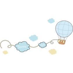 Stickers bébé : dans les airs