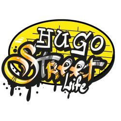 Sticker Street Life jaune à personnaliser