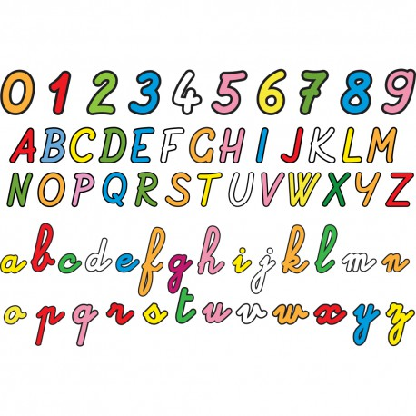 Sticker enfant : j'apprends l'alphabet