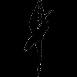 Stickers danseuse classique