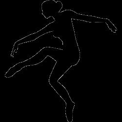 Sticker danse - Danseuse 2