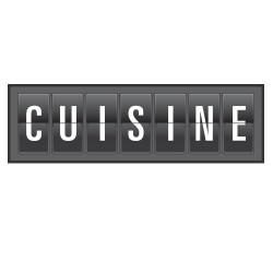 Stickers Affichage CUISINE