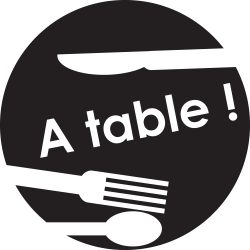 Sticker cuisine : A table !