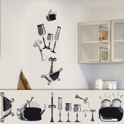Stickers cuisine Kit vaisselle