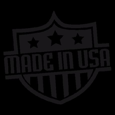 Sticker deco Made in USA