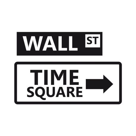 Kit stickers Time square et Wall st