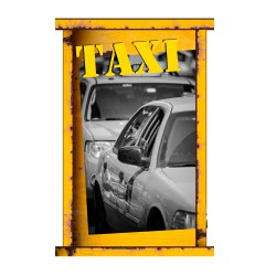 Stickers panneau Taxi New york