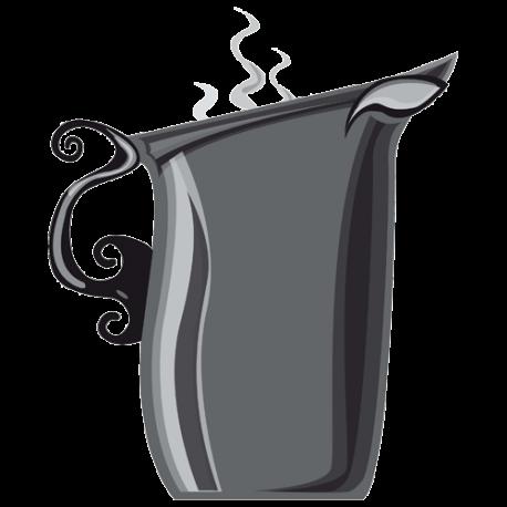 Sticker pot a lait