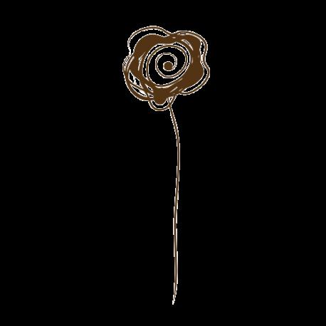 Sticker fleur deco originale