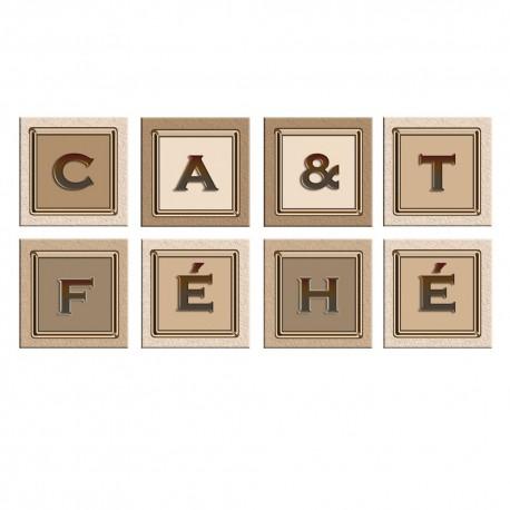 Stickers carreaux de carrelages the et cafe