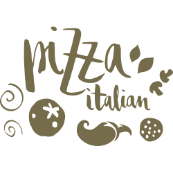 Sticker Pizza italienne