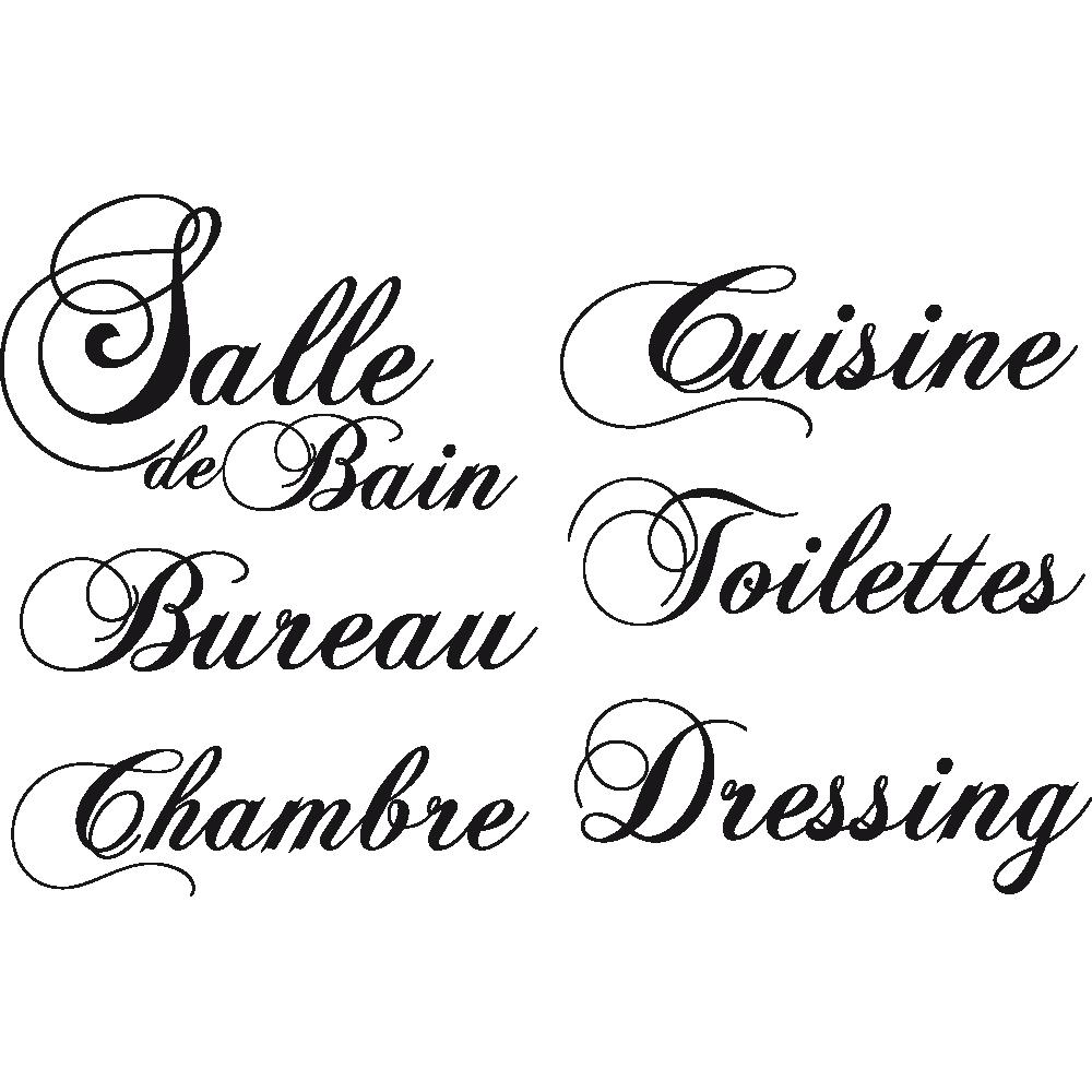 Salle De Bain Style Urbain ~ Stickers Citations Et Phrases C L Bres Sticker Texte Personnalis