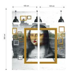 Papier peint contenporain Mona Look