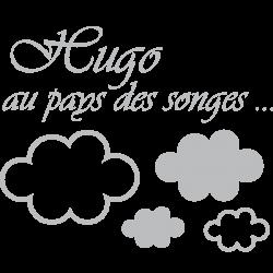 Sticker prénom au pays des songes