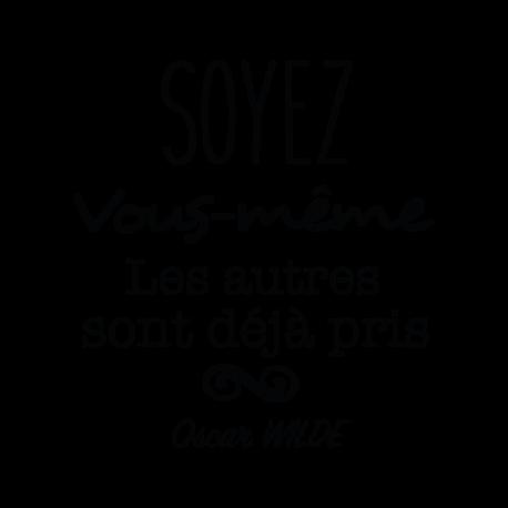 Stickers avec textes Oscar Wilde