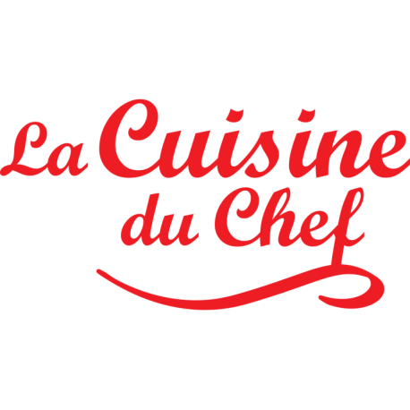 Stickers cuisine du chef phrase d corative pour mur for Stickers phrase cuisine