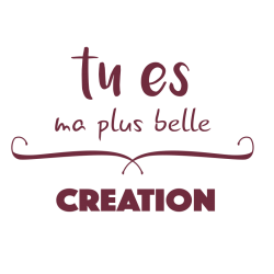 Sticker citation pour chambre