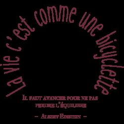 Stickers de citation Albert Einstein