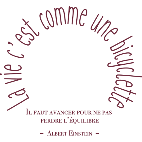 Stickers Muraux De Citations C 233 L 232 Bre Sur La Vie D Albert