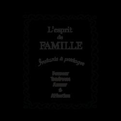Sticker l'esprit de famille