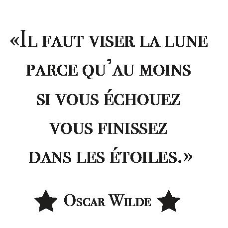 Stickers Citation Salon Stickers Muraux Texte Oscar Wilde Décorécébo