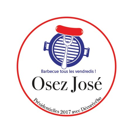 Sticker Osez José