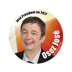 Sticker humour José Président