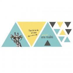 Stickers style scandinave Girafe
