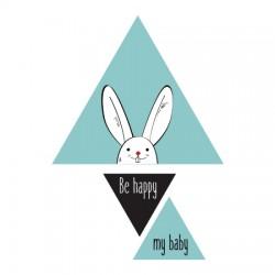 Stickers bébé scandinave Lapin Andréas