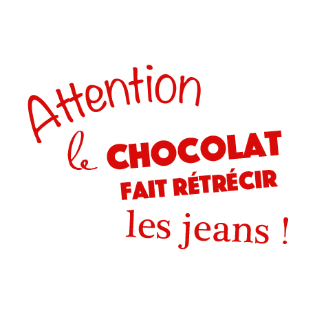 stickers textes cuisine rigolo et humoristique sur le chocolat d cor c bo. Black Bedroom Furniture Sets. Home Design Ideas