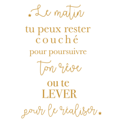 Stickers muraux textes