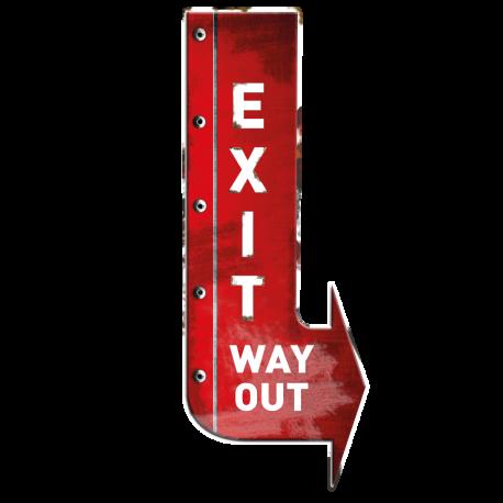 Stickers flèche Exit New York