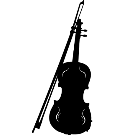 Sticker violon - Sticker musique