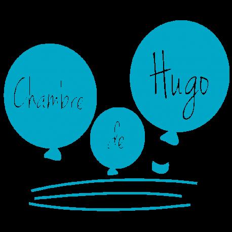 Stickers ballons personnalisés