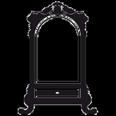 Sticker baroque : Bonhomme
