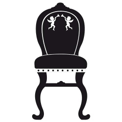Sticker Baroque - Chaise Marie Antoinette