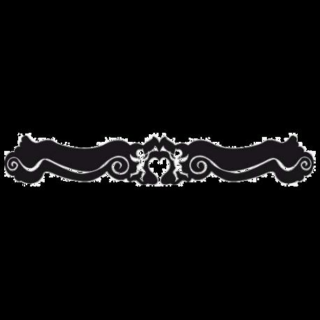 Stiker baroque : le Haut de porte