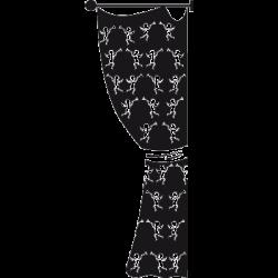 Sticker baroque - Le Rideau