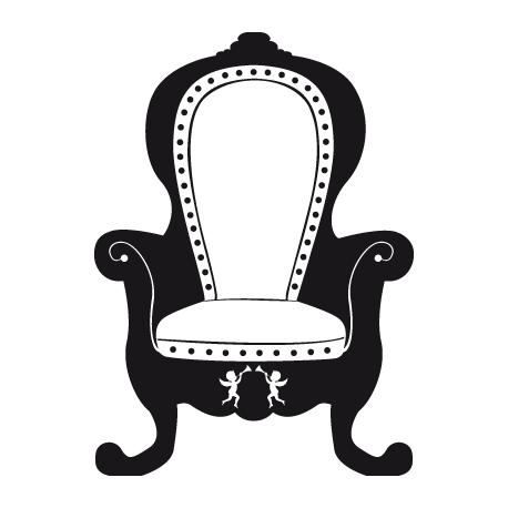 Sticker Baroque - Le Voltaire